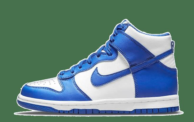 blauwe sneakers Nike Dunk High 'Game Royal'   DD1399-102