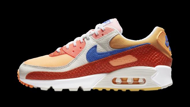 WMNS Nike Air Max 90 Campfire Orange DJ8517-800
