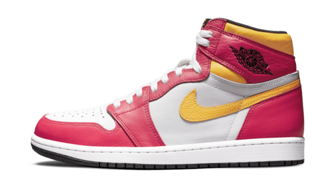 Air Jordan 1 High 'Light Fusion Red' Hottest releases