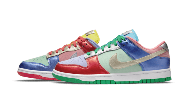 DN0855-600 Nike WMNS Dunk Low 'Sunset Pulse'
