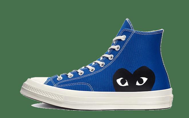 blauwe sneakers Comme des Garçons x Converse Chuck 70 High 'Quartz'   171846C