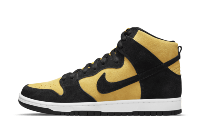 black and yellow shoes