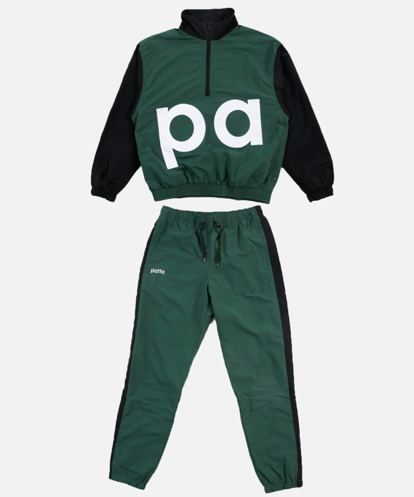 Patta Colour Block Relaxed Tracksuit Summer Sale