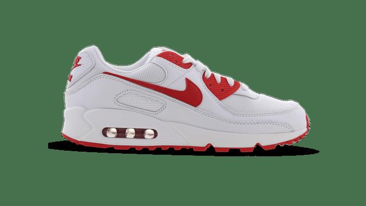 Nike Air Max 90 rood en wit
