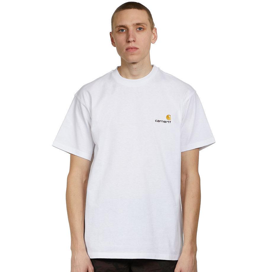 Carhartt WIPS/S American Script T-Shirt uit de HHV Sale