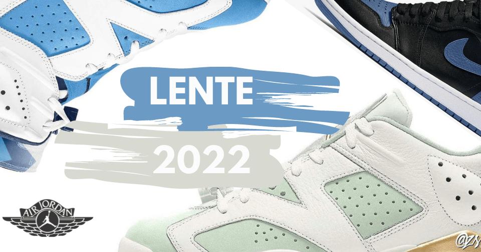 Air Jordan's Lente 2022