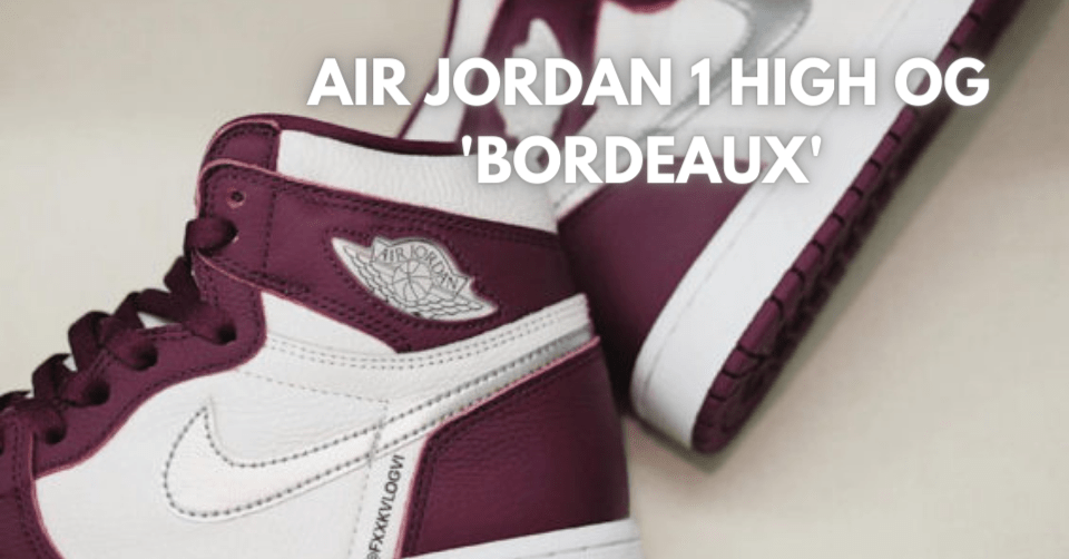 Air Jordan 1 High OG 'Bordeaux'