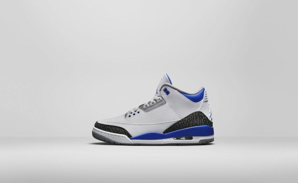 Air Jordan 3 'Racer Blue'   CT8532-145