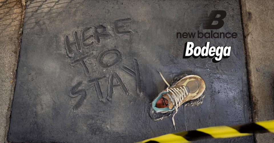Bodega x New Balance 990v3 'Anniversary'