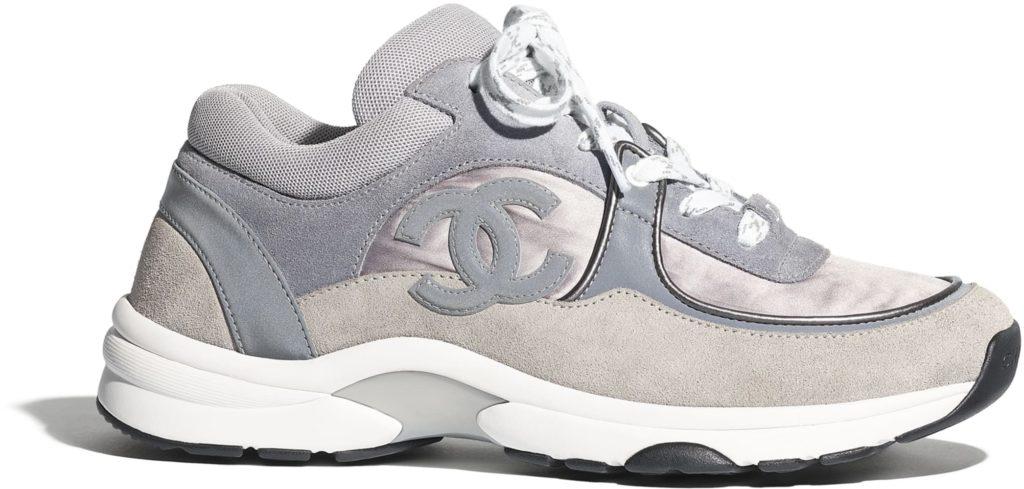 chanel sneakers dames