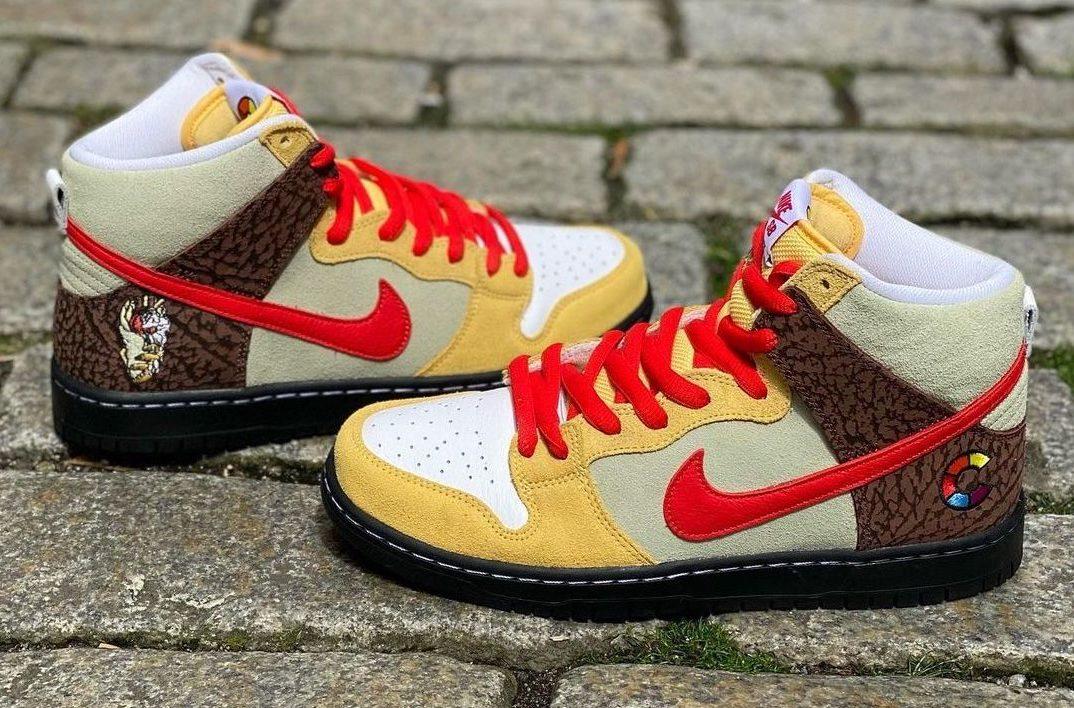 Color Skates x Nike SB Dunk High Kebab and Destroy