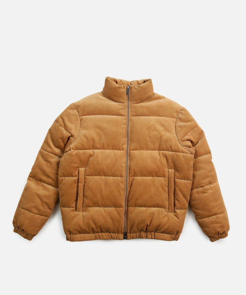 Patta Corduroy Puffer Jacket bruin Summer Sale