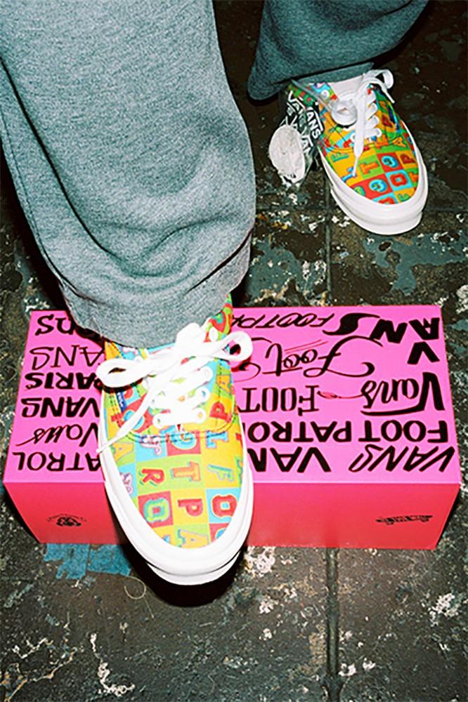 Footpatrol x Vans