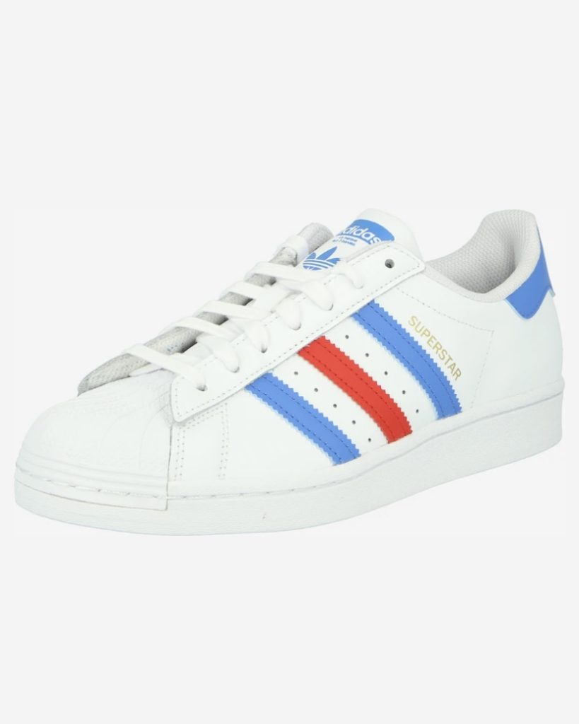 adidas Superstar blauw/rood/wit korting about you