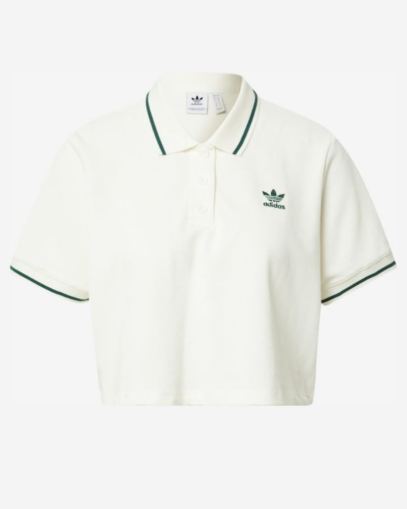 adidas polo in off white
