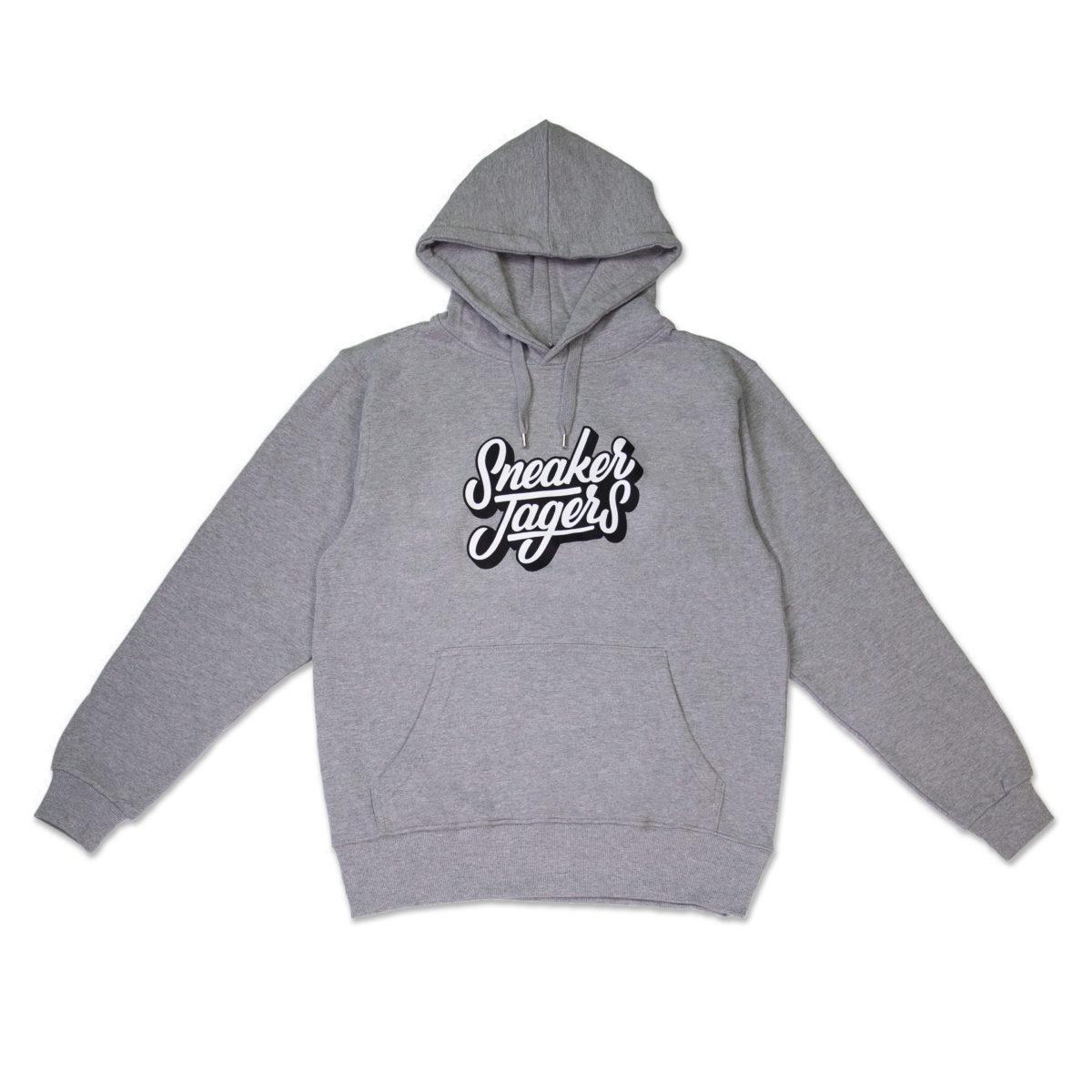 Sneakerjagers hoodie smoke grey