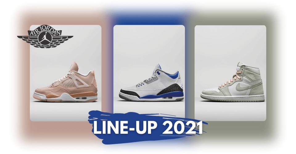 Air Jordan Line-up Fall 21