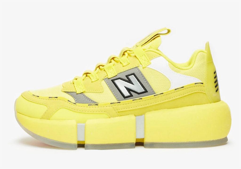 Jaden Smith x New Balance Vision Racer 'Yellow'