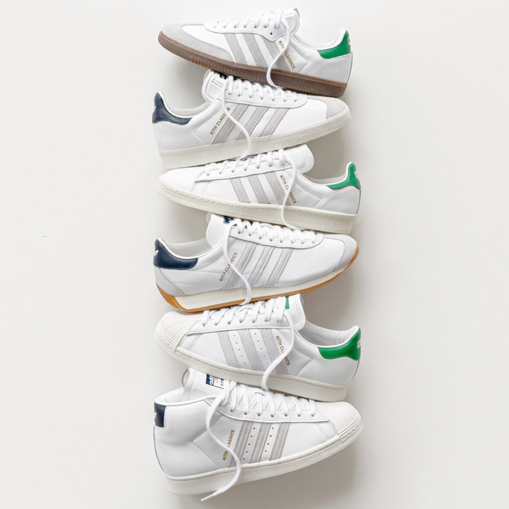 KITH Classics x adidas Originals sneakers