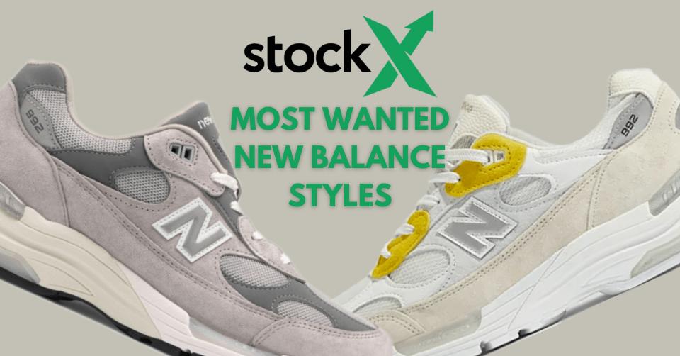 De 10 meest gewilde New Balance sneakers bij StockX