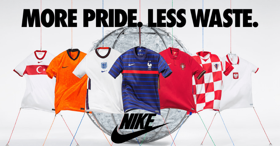 Nike EK 2021 Voetbalshirts