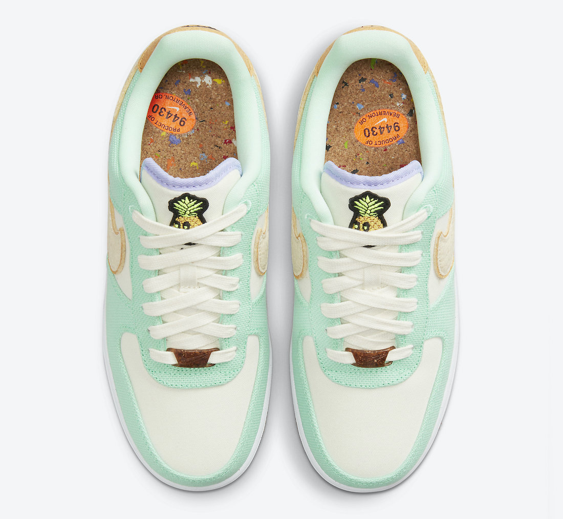 Nike-Air-Force-1-Low-Happy-Pineapple-CZ0268-300-Release-Date-3