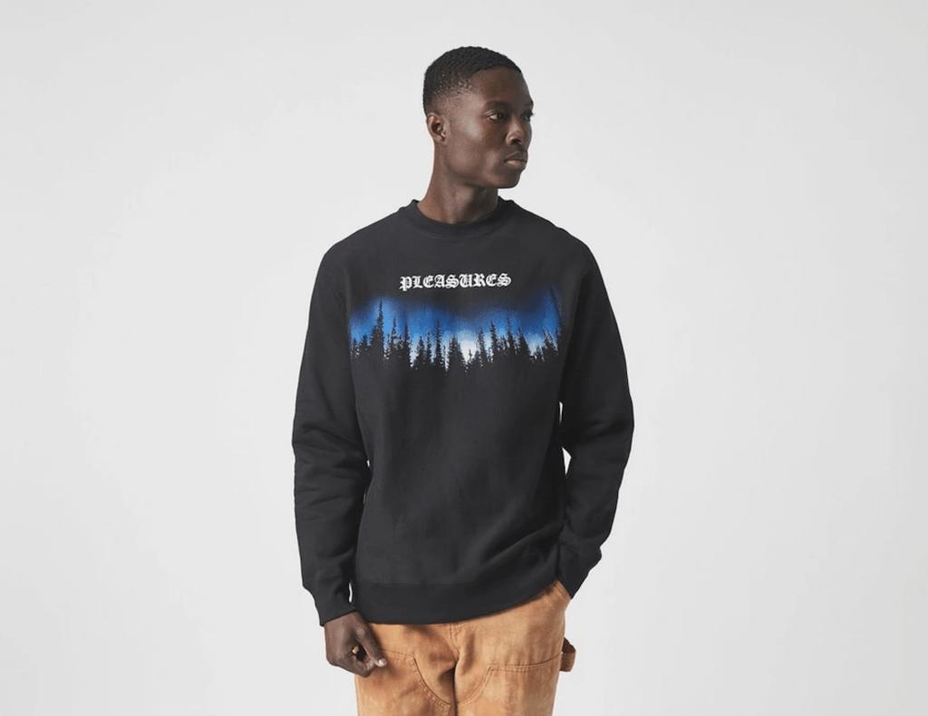 Pleasures Sweatshirt Size Sale