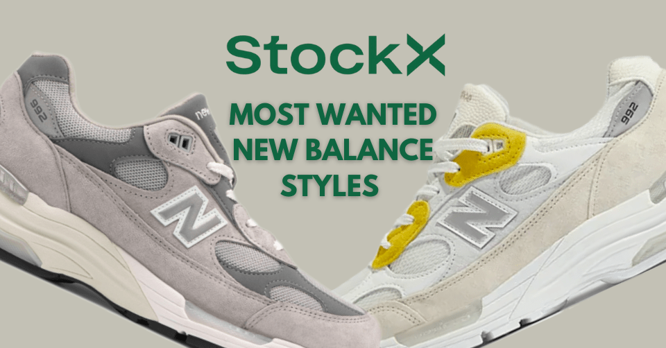 New Balance most wanted StockX