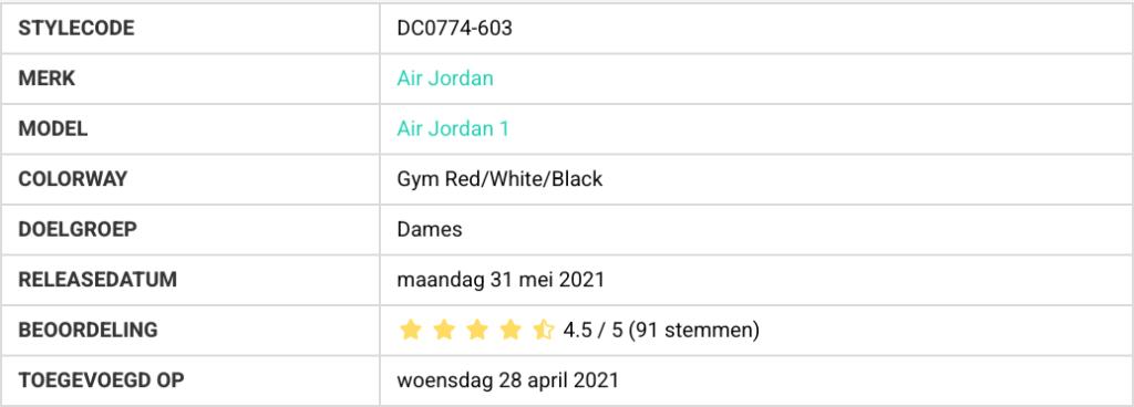 bestverkochte sneakers DC0774-603