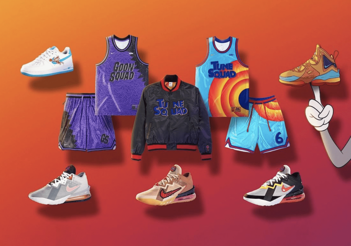 Nike Converse 'Space Jam: A New Legacy' collectie