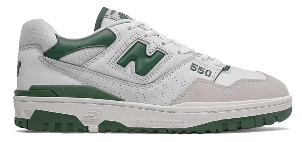 New Balance 550 'White/Green' | BB550WT1