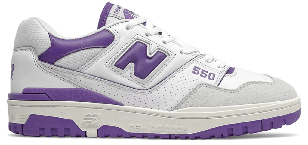 New Balance 550 'White/Purple' | BB550WR1