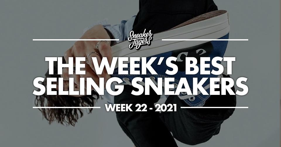 De 5 bestverkochte sneakers van week 22