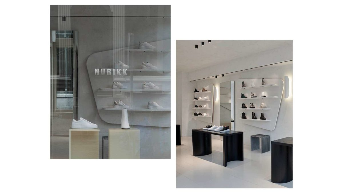 Nubikk flagship store in Amsterdam