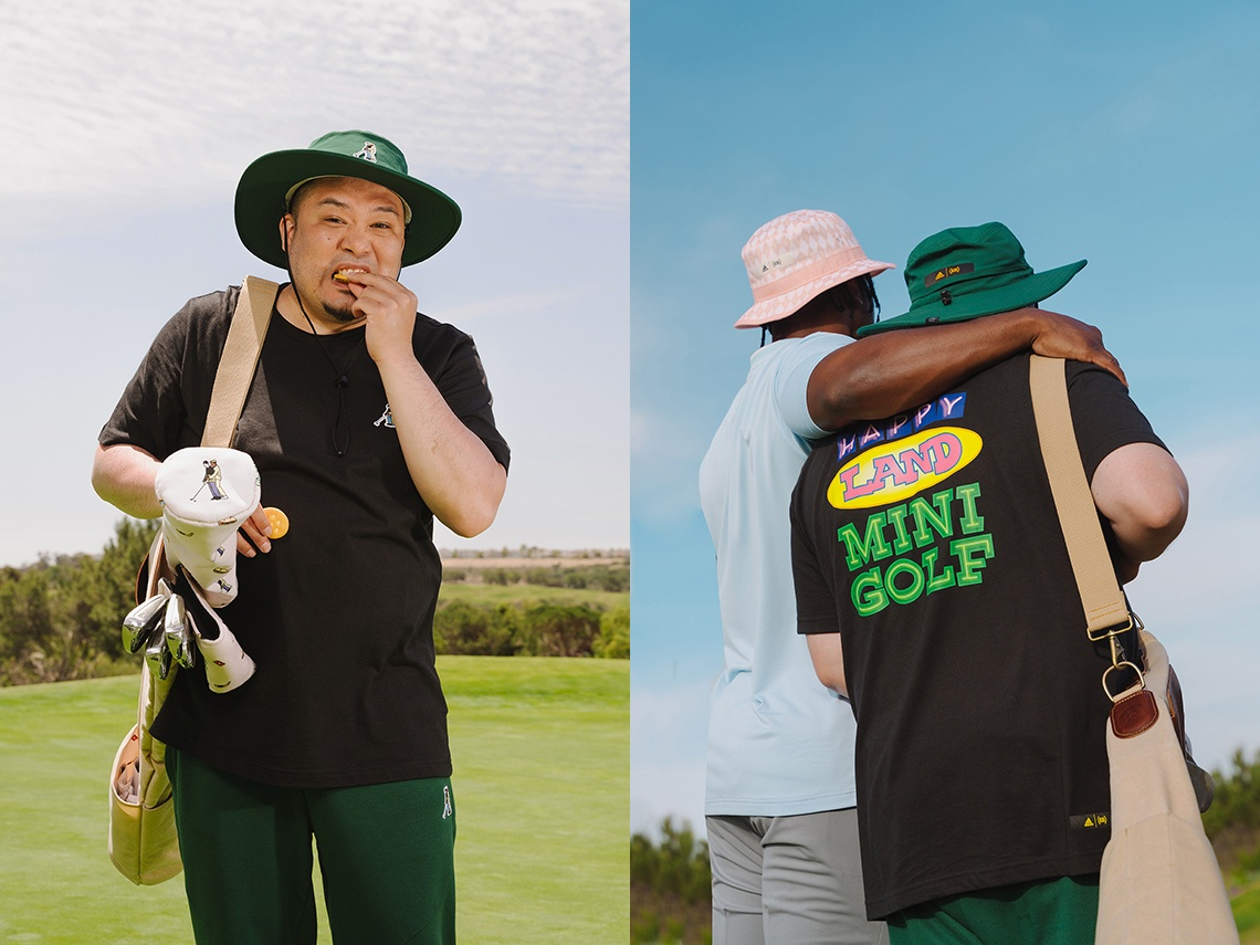 Extra Butter x Happy Gilmore x adidas Golf collectie