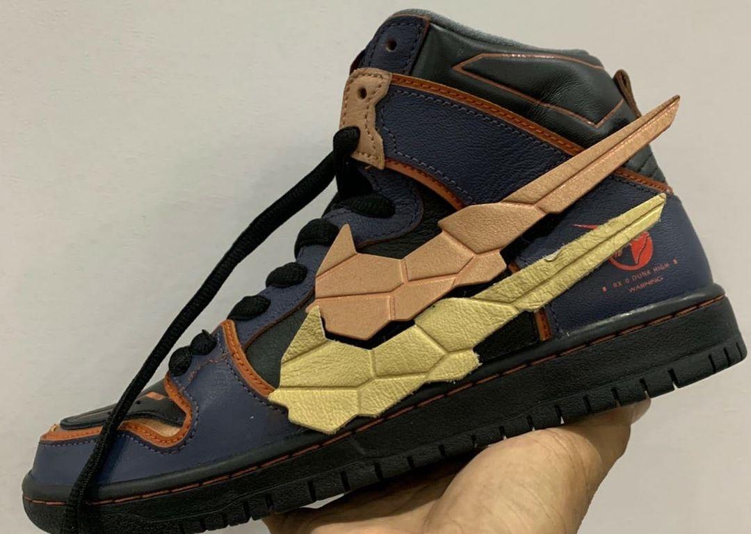 Gundam Unicorn Nike SB Dunk High