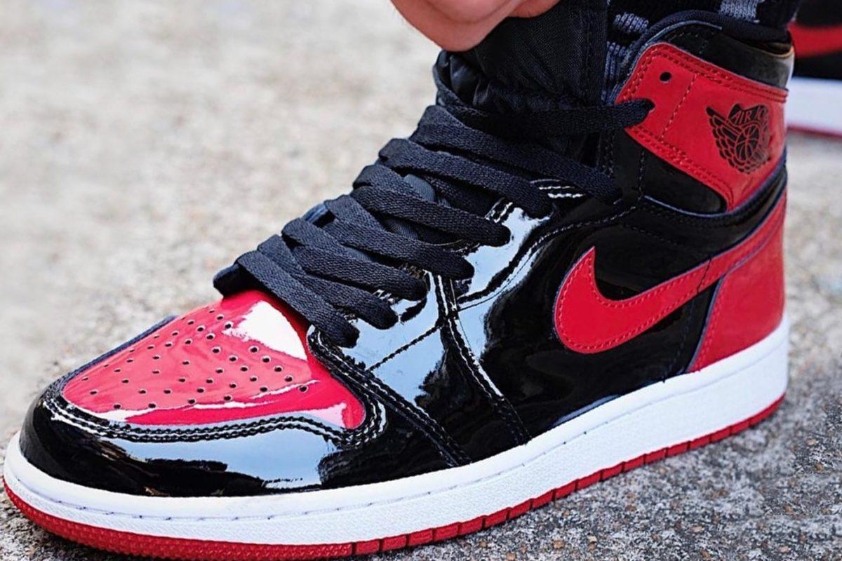 Nike Air Jordan 1 High OG Patent Bred