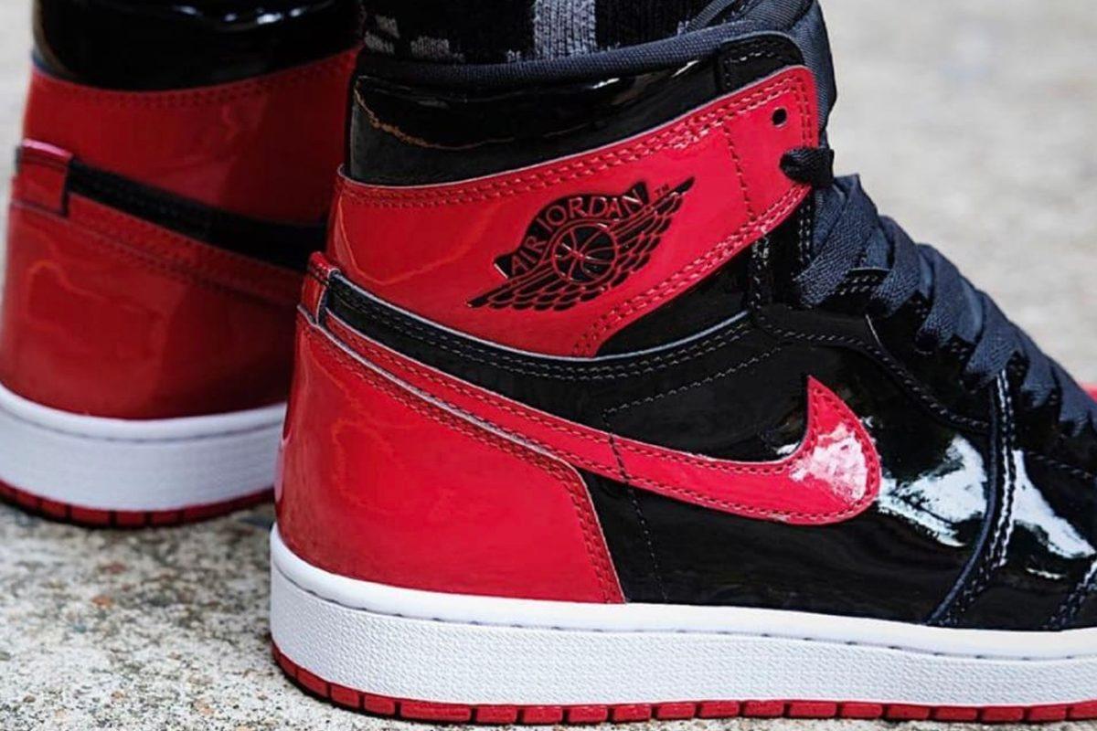 Nike Air Jordan 1 High Patent Bred