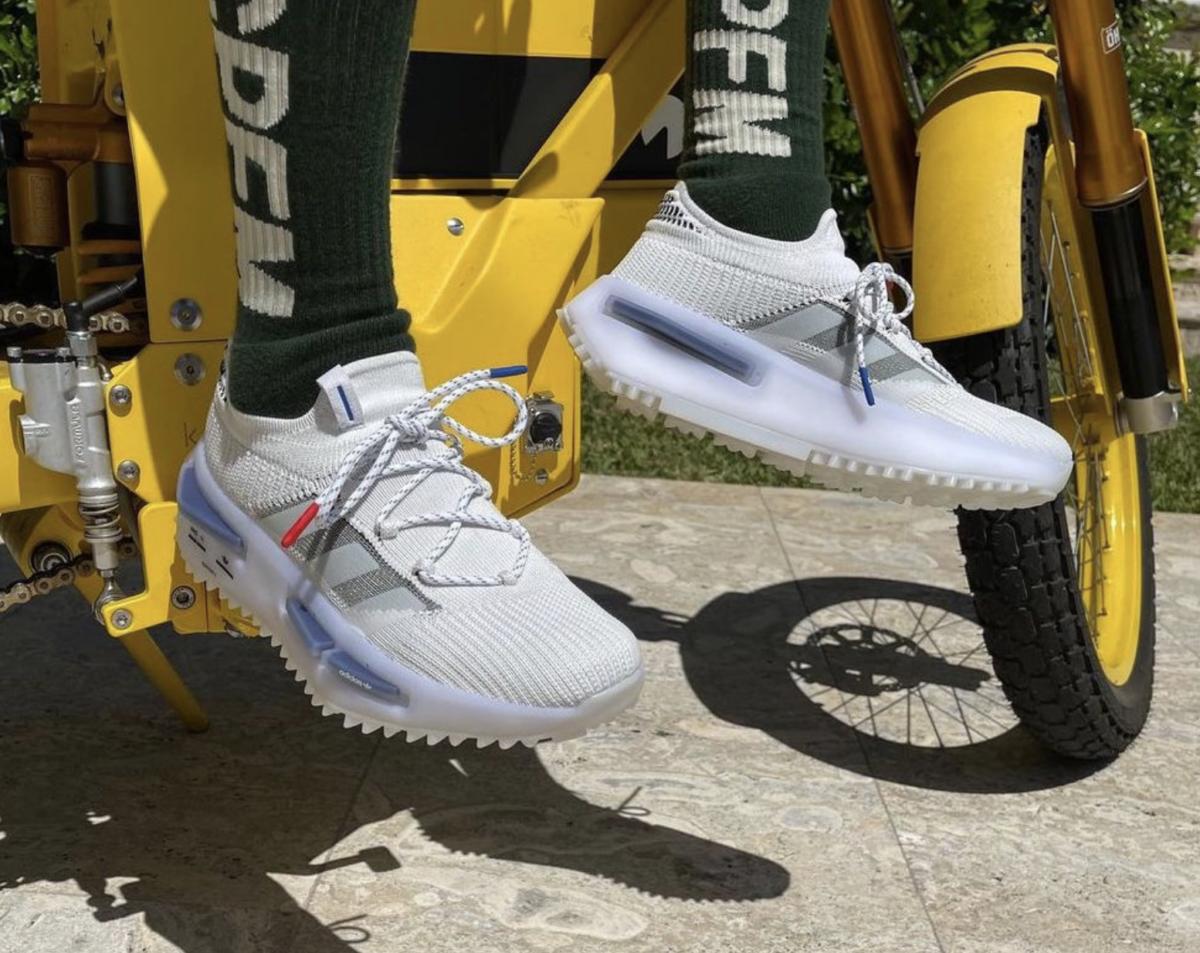 Adidas NMD S1 on feet