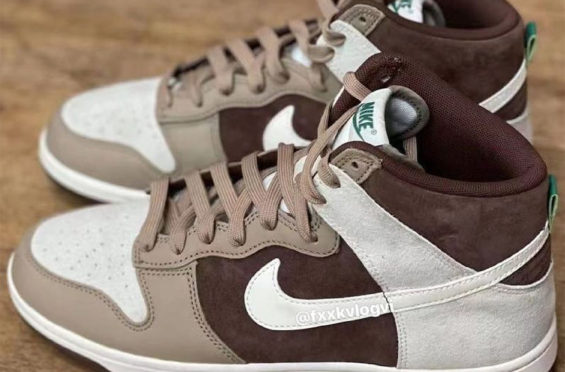Nike Dunk High Retro 'Light Chocolate'