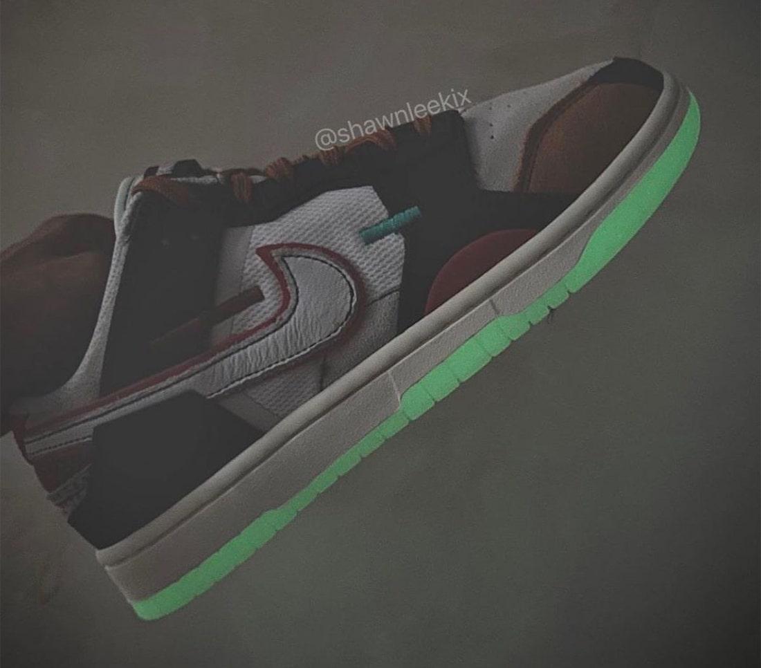Nike Dunk Low Scrap Glow In The Dark