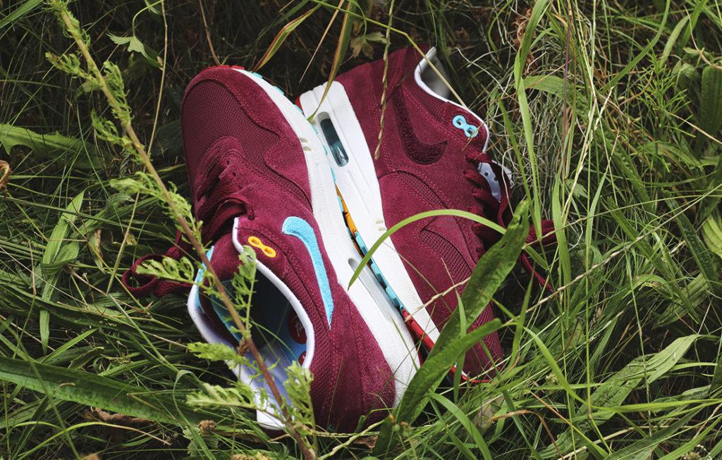 Patta x Parra x Nike Air Max 1 'Cherrywood'