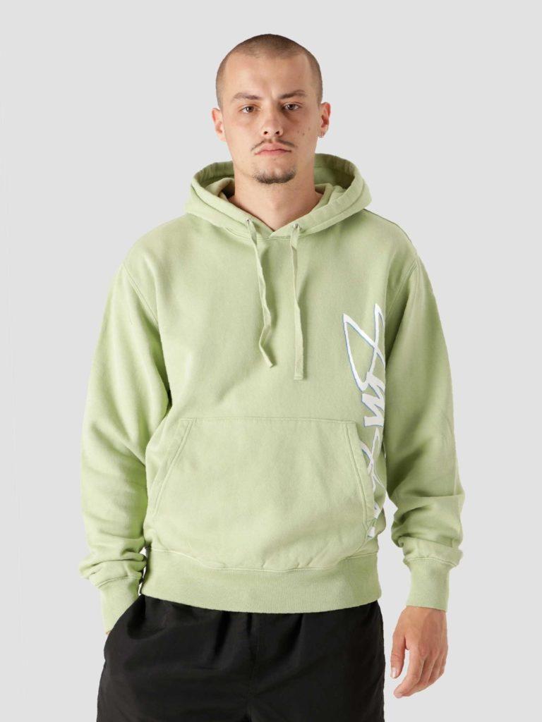Stussy Smooth Stock Printed Hood Green