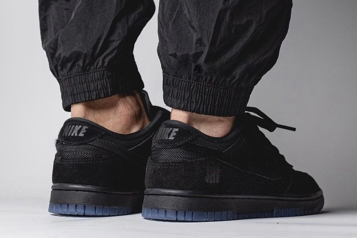 Undefeated x Nike Dunk Low Black