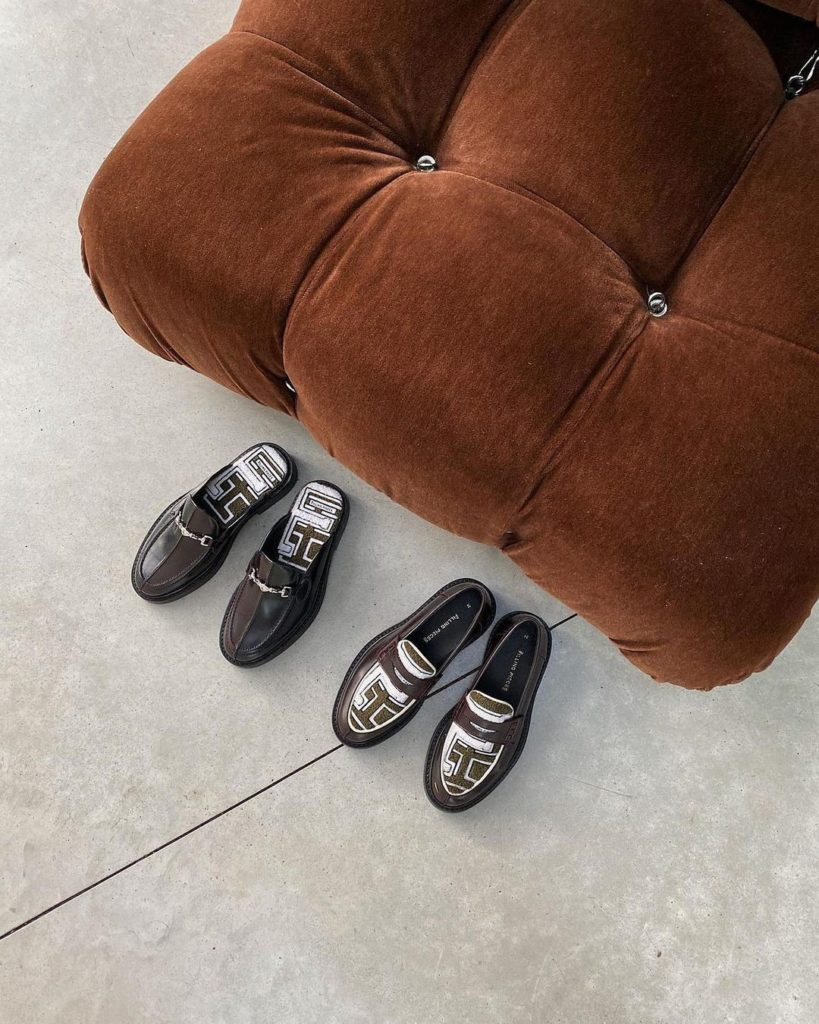 Filling Pieces mules and loafers