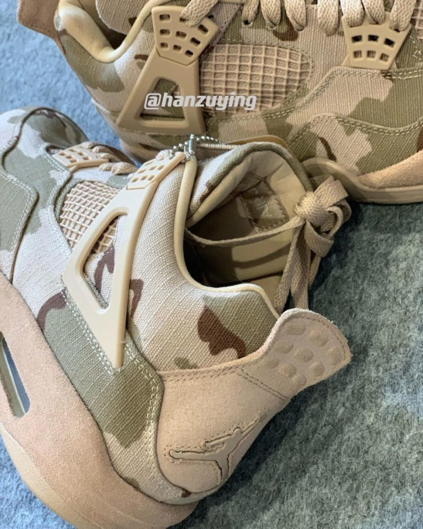 Aleali May x Air Jordan 4 'Camo'