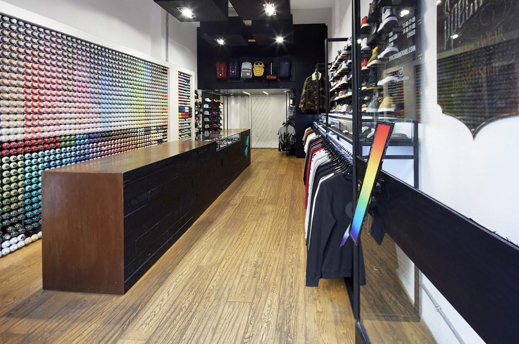 sneakerwinkels milaan spectrum
