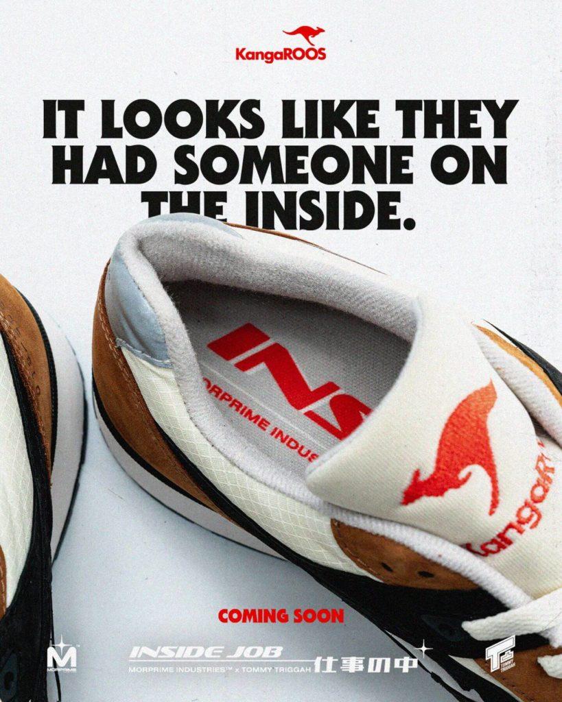 Morprime x Tommy Triggah x Inside Job sneaker coming soon