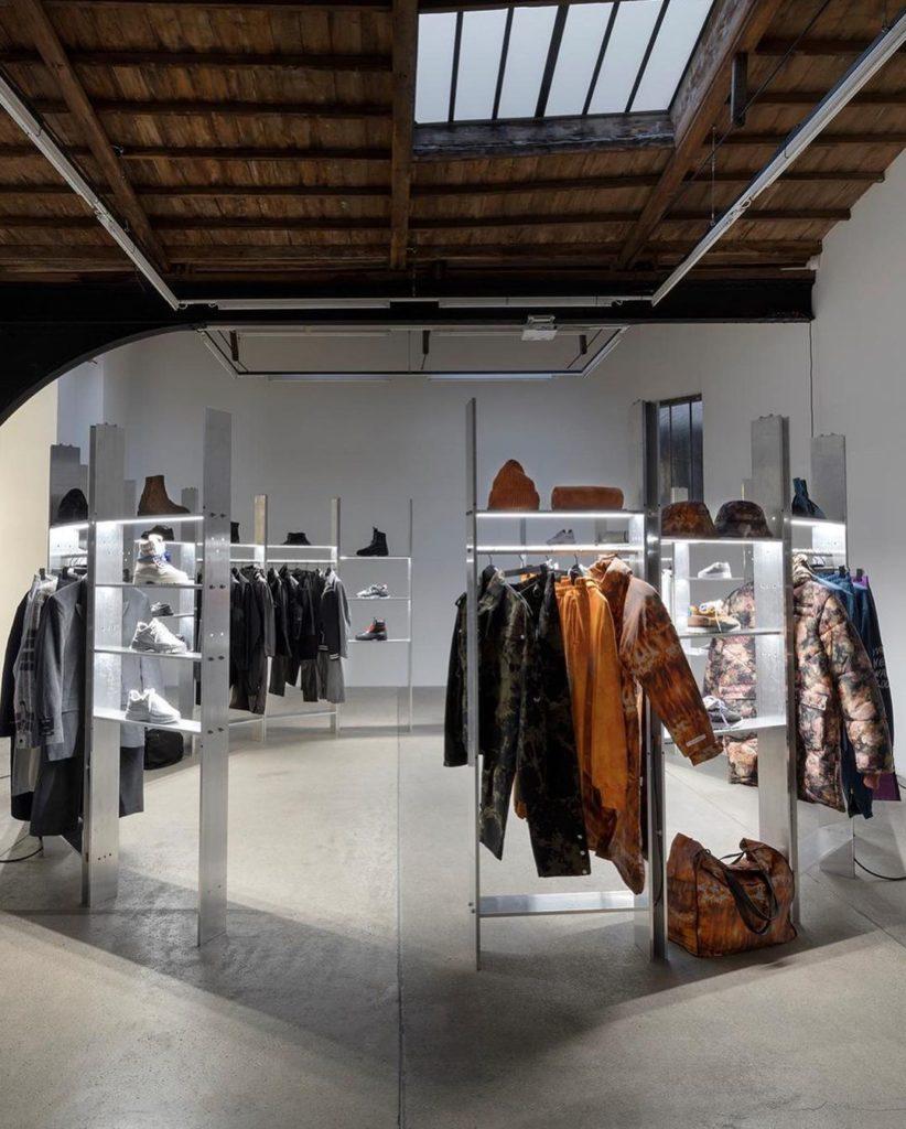 Showroom Paris Fashion Week