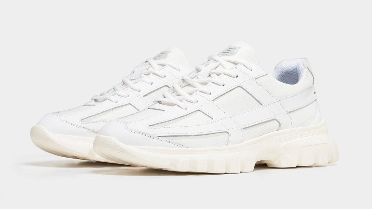 Filling Pieces Innovation Footwear Reaf Zinc White